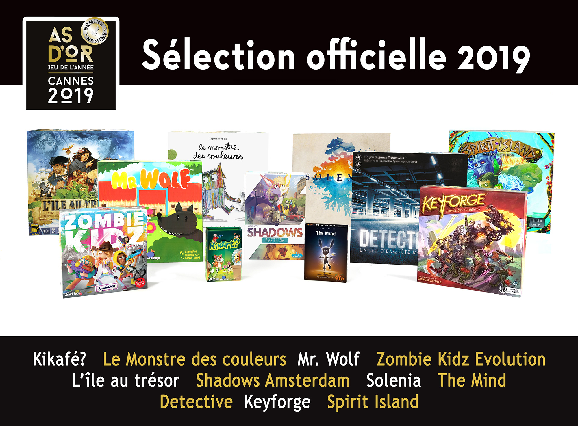 festival international des jeux - As d'Or 2019